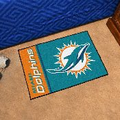 NFL - Miami Dolphins Uniform Inspired Starter Rug 19x30