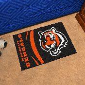 NFL - Cincinnati Bengals Uniform Inspired Starter Rug 19x30