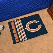 NFL - Chicago Bears Uniform Inspired Starter Rug 19x30
