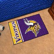 NFL - Minnesota Vikings Uniform Inspired Starter Rug 19x30