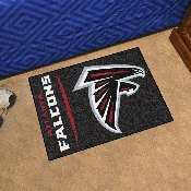 NFL - Atlanta Falcons Uniform Inspired Starter Rug 19x30