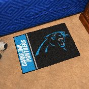 NFL - Carolina Panthers Uniform Inspired Starter Rug 19x30
