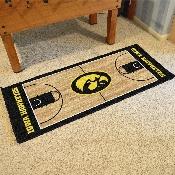 Iowa Basketball Court Runner 30x72