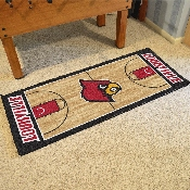 Louisville Basketball Court Runner 30x72