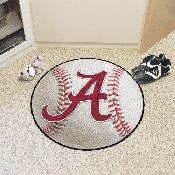 Alabama Baseball Mat 27 diameter