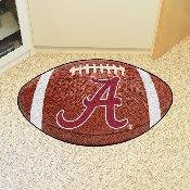 Alabama Football Rug 20.5x32.5