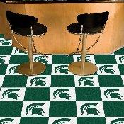 Michigan State Carpet Tiles 18x18 tiles