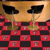 Texas Tech Carpet Tiles 18x18 tiles