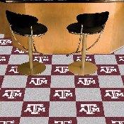 Texas A&M Carpet Tiles 18x18 tiles