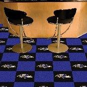 NFL - Baltimore Ravens Carpet Tiles 18x18 tiles