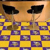 NFL - Minnesota Vikings Carpet Tiles 18x18 tiles