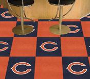 NFL - Chicago Bears Carpet Tiles 18x18 tiles