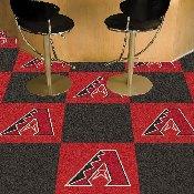 MLB - Arizona Diamondbacks Carpet Tiles 18x18 tiles