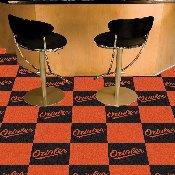 MLB - Baltimore Orioles Carpet Tiles 18x18 tiles