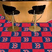 MLB - Boston Red Sox Carpet Tiles 18x18 tiles