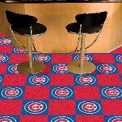 MLB - Chicago Cubs Carpet Tiles 18x18 tiles