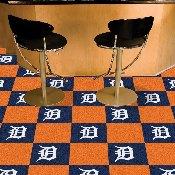 MLB - Detroit Tigers Carpet Tiles 18x18 tiles