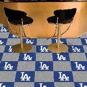 MLB - Los Angeles Dodgers Carpet Tiles 18x18 tiles