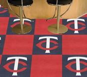 MLB - Minnesota Twins Carpet Tiles 18x18 tiles