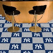 MLB - New York Yankees Carpet Tiles 18x18 tiles