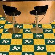 MLB - Oakland Athletics Carpet Tiles 18x18 tiles