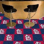MLB - St. Louis Cardinals Carpet Tiles 18x18 tiles