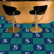 MLB - Seattle Mariners Carpet Tiles 18x18 tiles