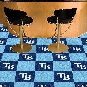 MLB - Tampa Bay Rays Carpet Tiles 18x18 tiles