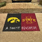 Iowa - Iowa State House Divided Rugs 33.75x42.5