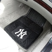 MLB - New York Yankees Heavy Duty 2-Piece Vinyl Car Mats 17x27