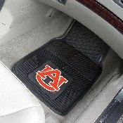 Auburn Heavy Duty 2-Piece Vinyl Car Mats 17x27