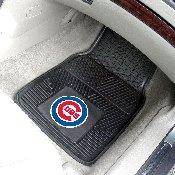 MLB - Chicago Cubs Heavy Duty 2-Piece Vinyl Car Mats 17x27