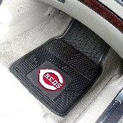 MLB - Cincinnati Reds Heavy Duty 2-Piece Vinyl Car Mats 17x27