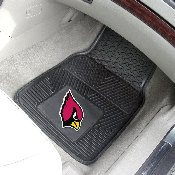NFL - Arizona Cardinals Heavy Duty 2-Piece Vinyl Car Mats 17x27