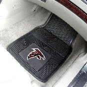 NFL - Atlanta Falcons Heavy Duty 2-Piece Vinyl Car Mats 17x27