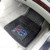 NFL - Buffalo Bills Heavy Duty 2-Piece Vinyl Car Mats 17x27