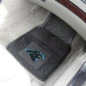 NFL - Carolina Panthers Heavy Duty 2-Piece Vinyl Car Mats 17x27