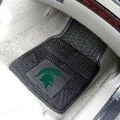 Michigan State Heavy Duty 2-Piece Vinyl Car Mats 17x27