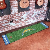 NFL - San Diego Chargers PuttingNFL - Green Runner