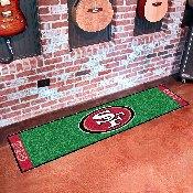NFL - San Francisco 49ers PuttingNFL - Green Runner