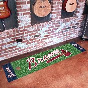 MLB - Atlanta Braves Putting Green Runner