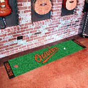 MLB - Baltimore Orioles Putting Green Runner