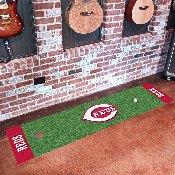 MLB - Cincinnati Reds Putting Green Runner