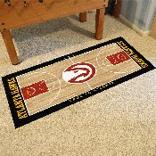 NBA - Atlanta Hawks Large Court Runner 29.5x54