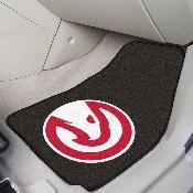 NBA - Atlanta Hawks 2-piece Carpeted Car Mats 17x27