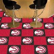 NBA - Atlanta Hawks Carpet Tiles 18x18 tiles