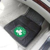 NBA - Boston Celtics 2-pc Vinyl Car Mat Set