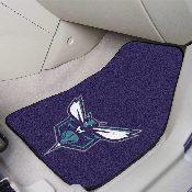 NBA - Charlotte Hornets 2-piece Carpeted Car Mats 17x27