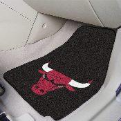 NBA - Chicago Bulls 2-piece Carpeted Car Mats 17x27