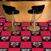 NBA - Chicago Bulls Carpet Tiles 18x18 tiles